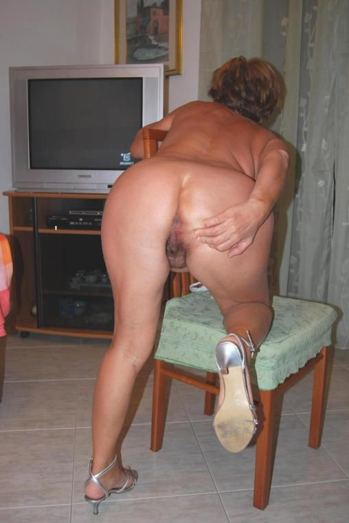 Horny chubby friend showing me her ass tits and pussy 6